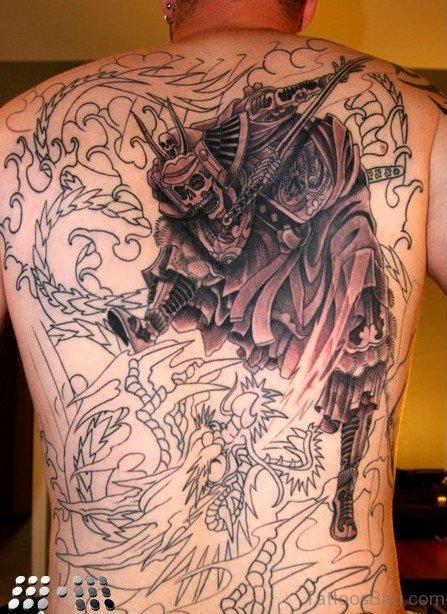 Skull Warrior Tattoo