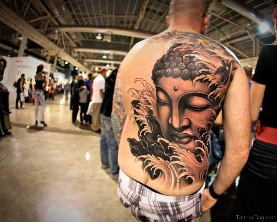 40 Exclusive Buddhist Tattoos For Back