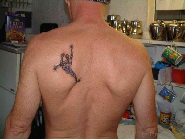 Small Back Tattoo