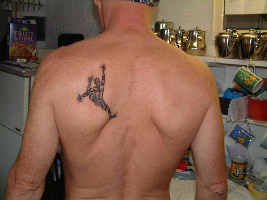 48 Appealing Back Tattoos For Boys