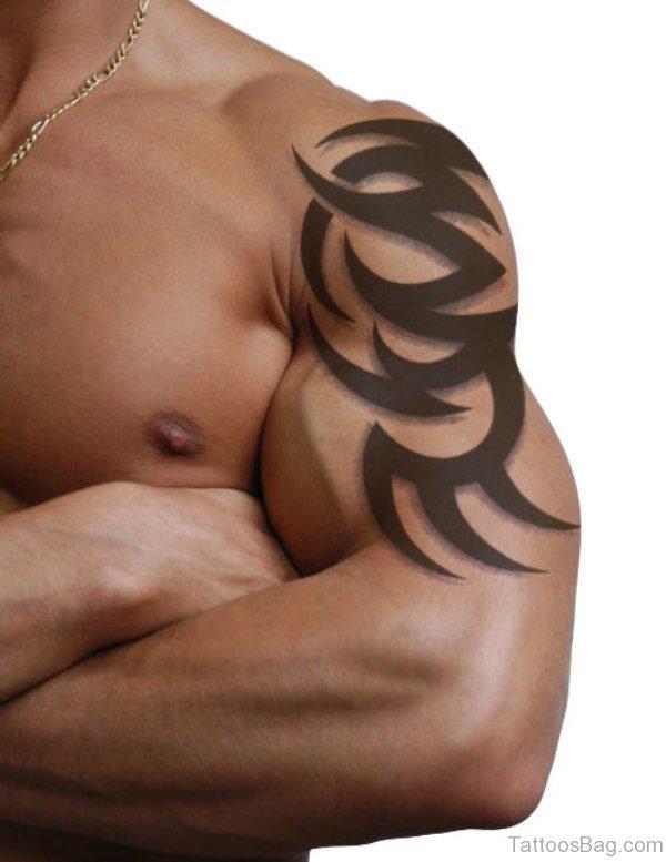 Small Black Tribal Tattoo