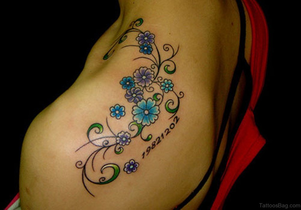 Flower Shoulder Tattoo Designs: 83 Glorious Flower Tattoos On Shoulder