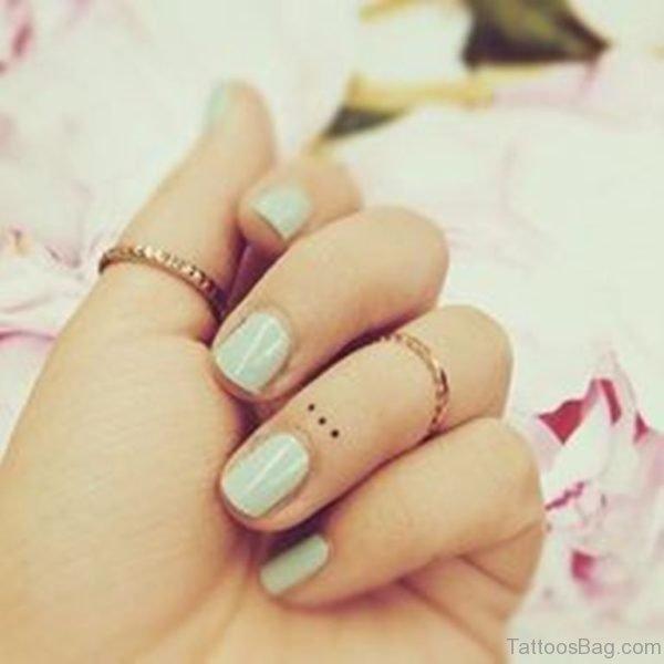 Small Dots Tattoo