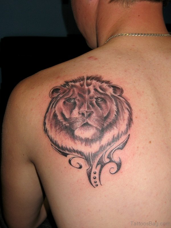 Small Lion tattoo Design