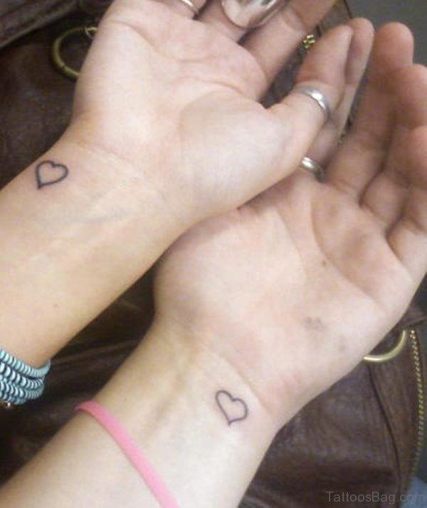 86 Wondrous Matching Tattoos For Wrist