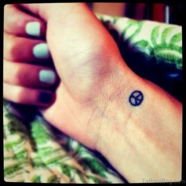 Small Peace Tattoo
