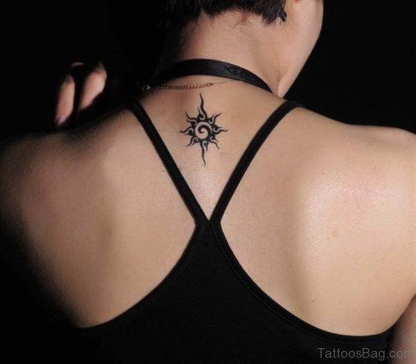 Small Sun Tattoo