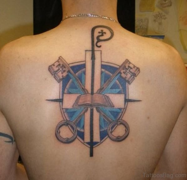 St-Peters Cross Tattoo
