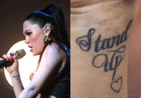 Stand Up Heart Tattoo