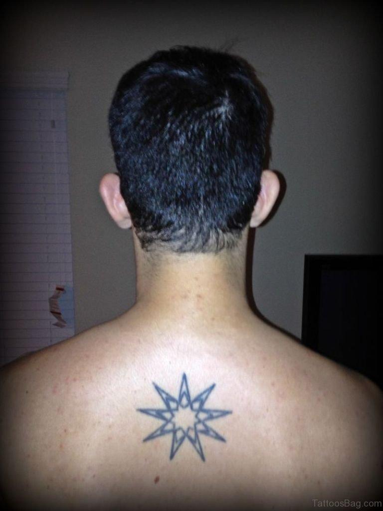 46 outstanding stars tattoos for back. Black Bedroom Furniture Sets. Home Design Ideas