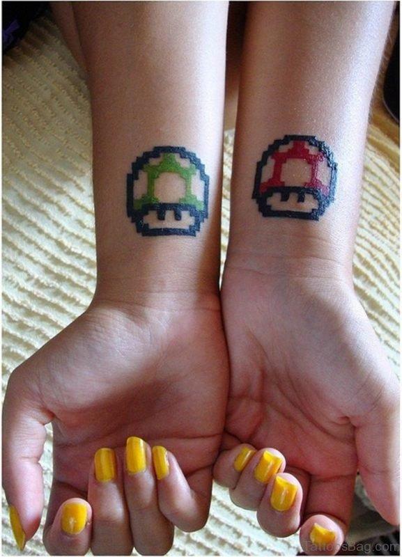 Stunning 1 Up Wrist Tattoo