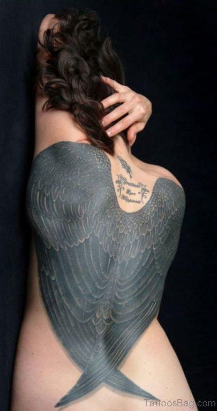 Stunning Angel Tattoo