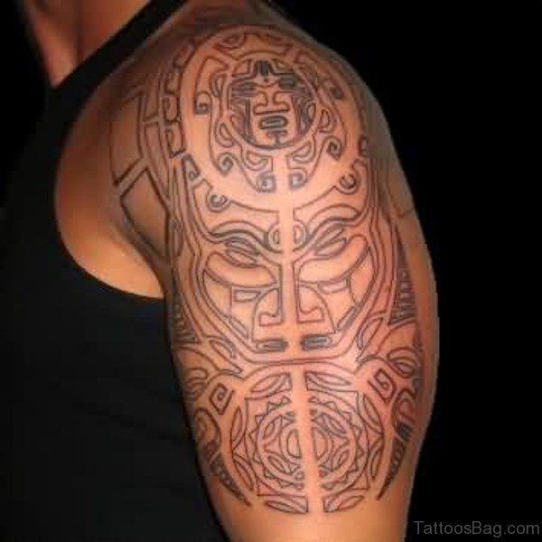 Stunning Aztec Tattoo