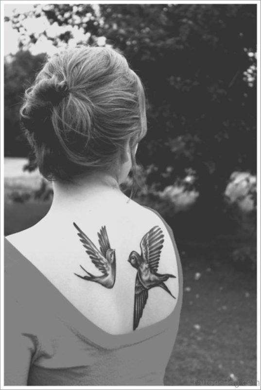 Stunning Birds Tattoo