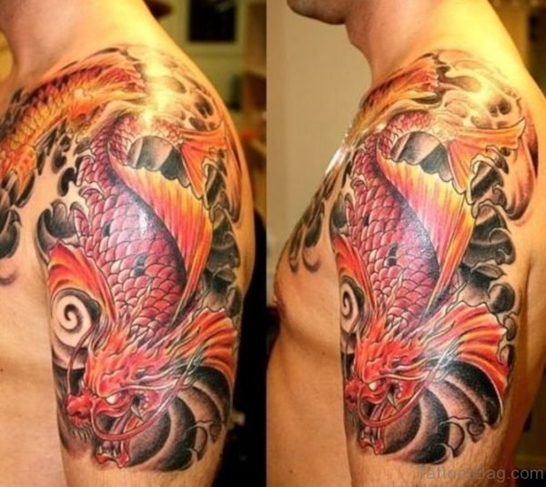 Stunning Colorful Japanese Tattoo