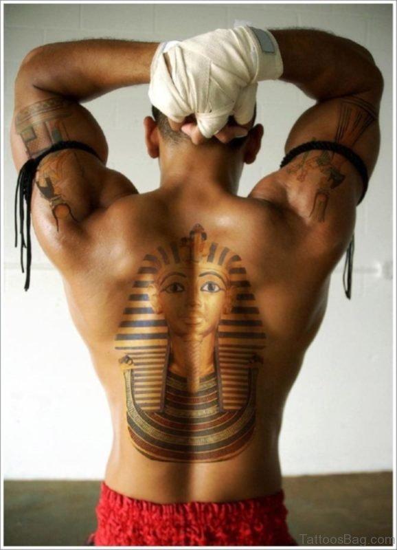 Stunning Egyptian Tattoo