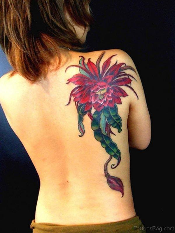 Stunning Flower Tattoo
