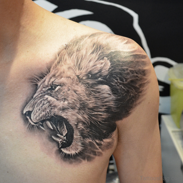 Stunning Lion Tattoo