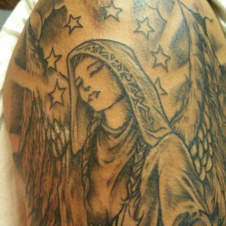Mary Name Tattoo Designs