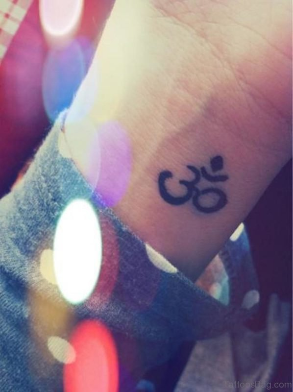 Stunning Om Tattoo