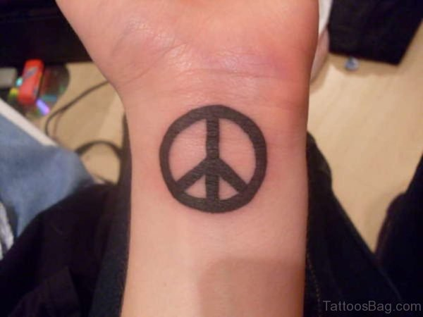 Stunning Peace Tattoo