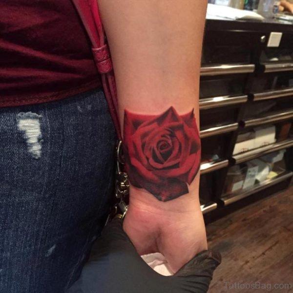 Stunning Rose Tattoo