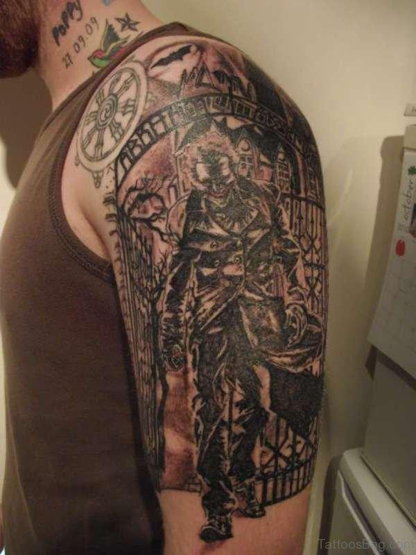 Stunning Shoulder Tattoo For Men