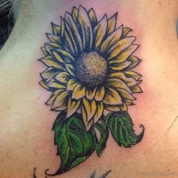 Stunning Sunflower Tattoo