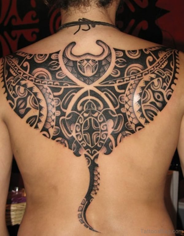 Stunning Tribal Tattoo