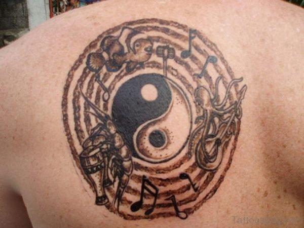 Stunning Yin Yang Tattoo Design