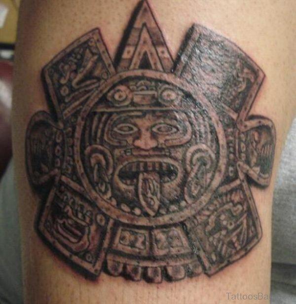 Stylish Aztec Tattoo