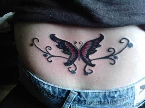 Stylish Butterfly Tattoo