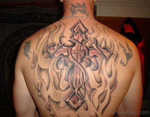 Awesome  Cross Tattoo