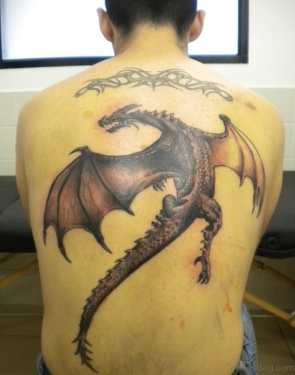 Stylish Dragon Tattoo