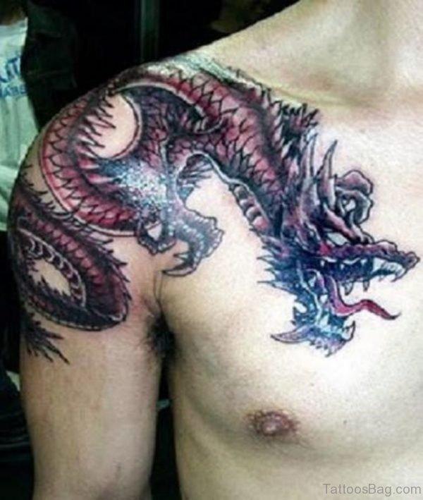 Stylish Dragon Tattoo