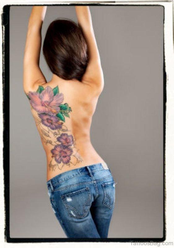Stylish Flower Tattoo
