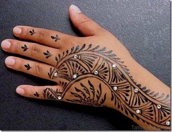 Stylish Henna Tattoo