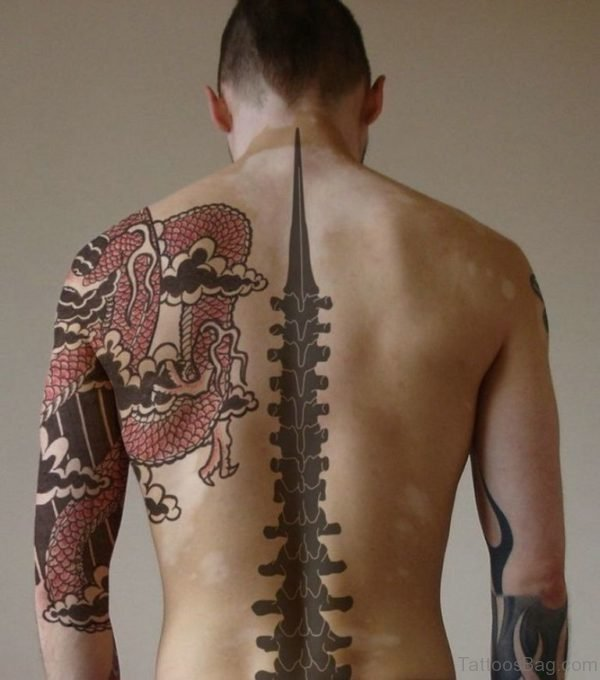 Stylish Japanese Tattoo