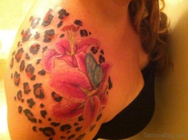 Stylish Lily Tattoo Design