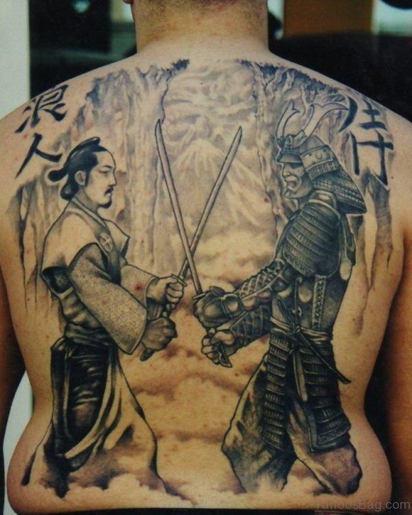 Stylish Samurais Tattoo