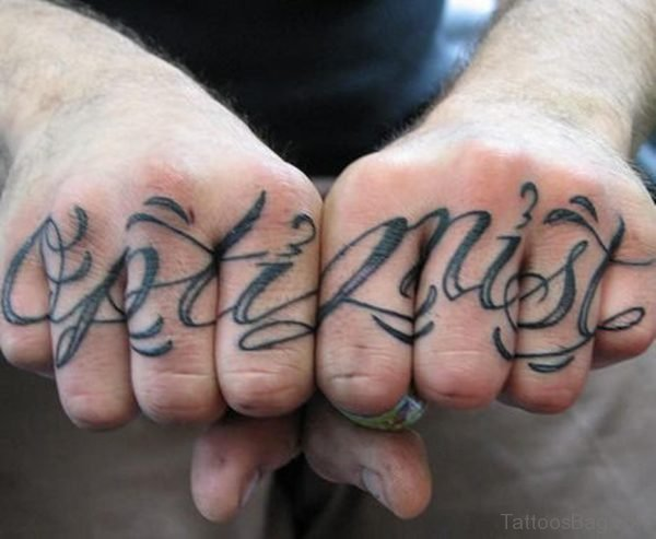 Stylish Word Tattoo