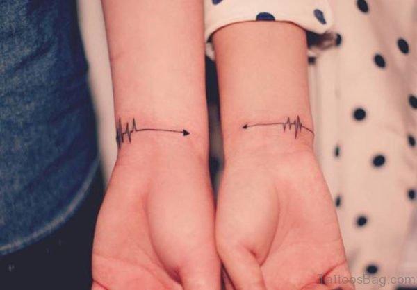 Stylish Wrist Tattoo