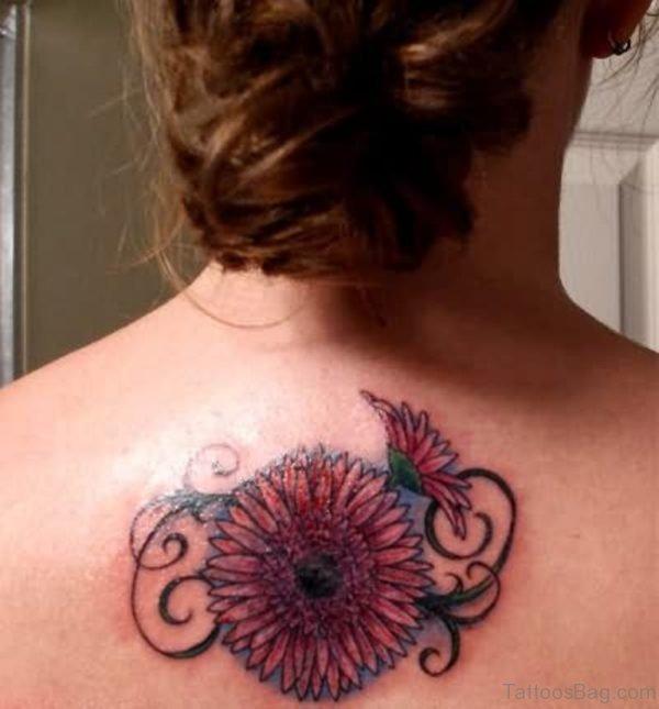 Sunflowers Color Tattoo Design