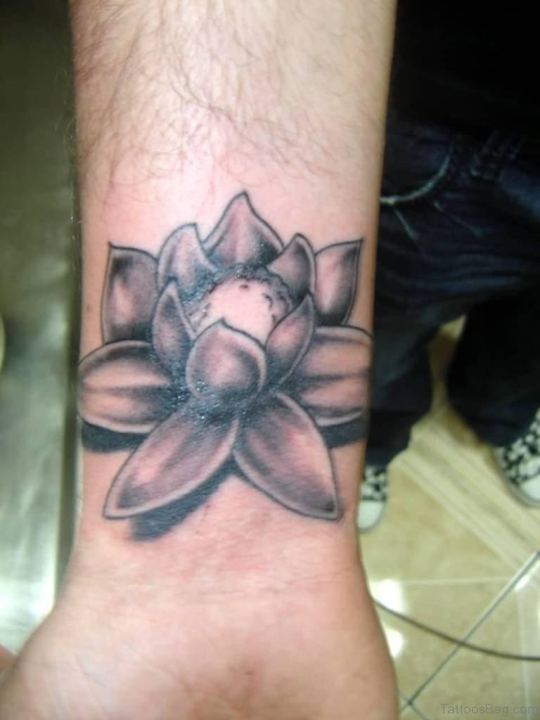 34 outstanding lotus tattoos for wrist superb lotus tattoo on wrist izmirmasajfo