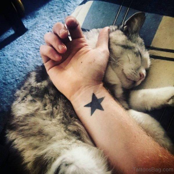 Superb Star Tattoo