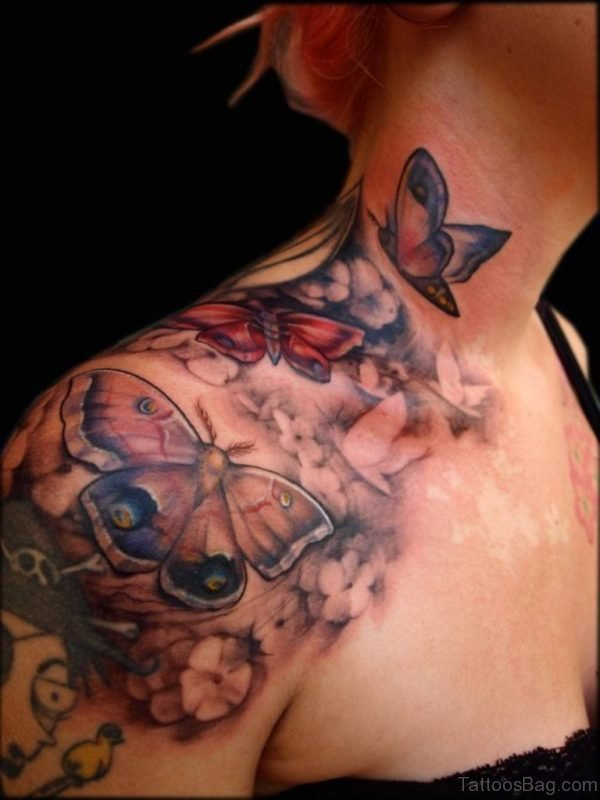 Sweet Butterfly Tattoo Design