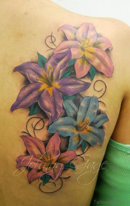 Sweet Flower Tattoo