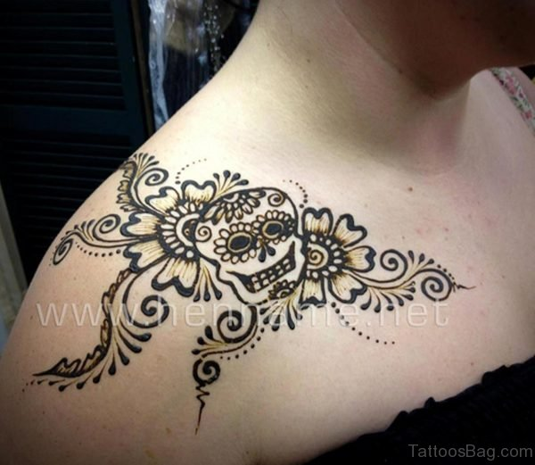 Sweet Henna Design Tattoo