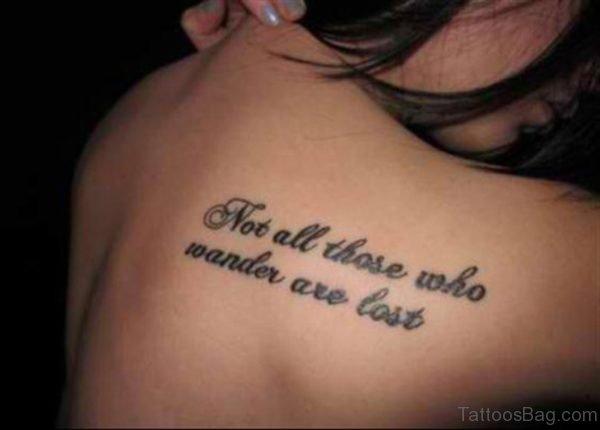 Sweet Literacy Tattoo