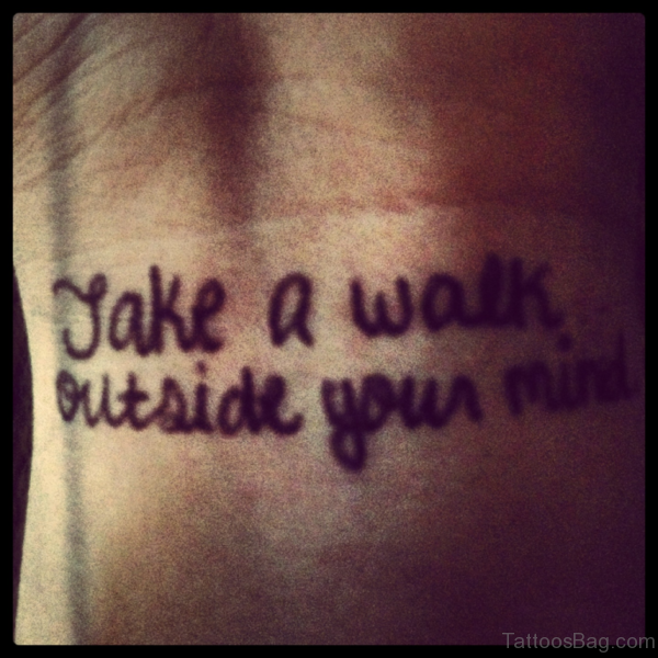 Take A Walk Outside Your Mind